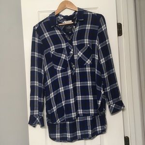 American Eagle High-Low Flannel